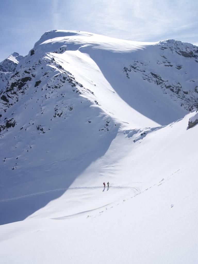 Ski de rando au Grand Colon