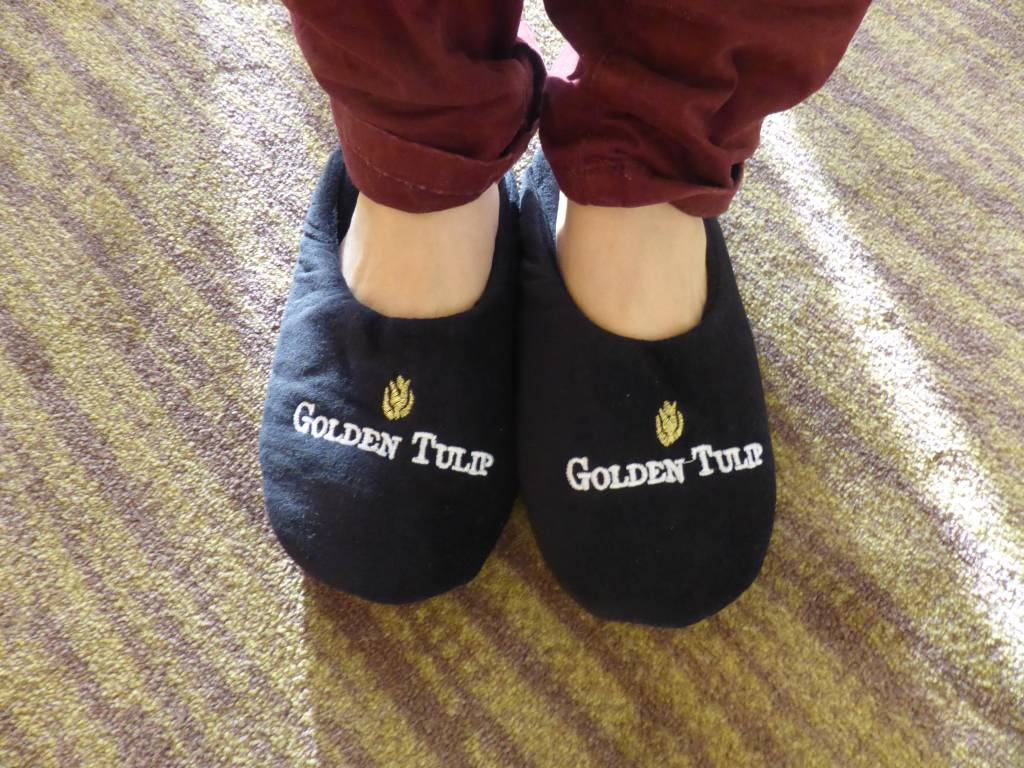 Chaussons golden tulip